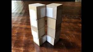 wooden cubes furniture. Infinite Wooden Folding Cube!!! Cubes Furniture