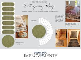 how to choose an entryway rug