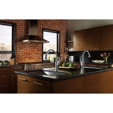 Delta Arctic Stainless Finish Addison Single Handle Water Efficient