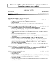 Fantastic Army Reserve Resume Sample Ideas Resume Ideas