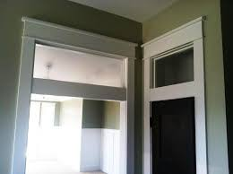 transom windows above interior doors