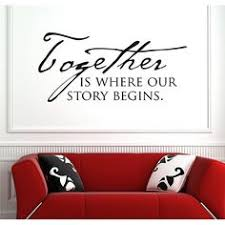 vinyl attraction together is where our story begins family vinyl wall art on personalized vinyl wall art message with personalized vinyl wall art message vinyl wall art foyers and walls