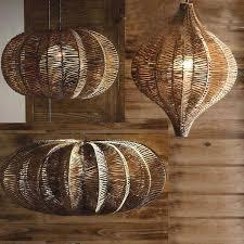 wire basket lights