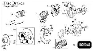diagram brakes disc cooper classic mini click
