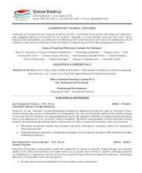 Early Childhood Education Resume Amazing Sample Educator Resume Special Needs Educator Resume Teaching Resume