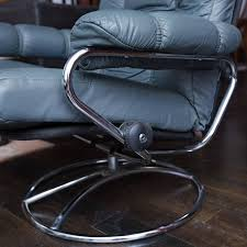 norwegian vintage office chair. This Is A Classic Leather Recliner And Ottoman From Norwegian Maker Ekornes. Most Likely Vintage Office Chair R