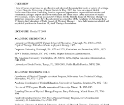 Physical Therapist Resume Awesome Inspirational Therapy Templates