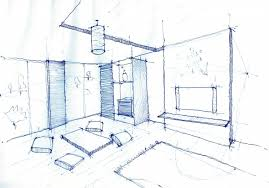Wonderful Photos Of Interior Design Drawing Living Room Pen Sketch 1024716 Room  Design Sketch Photography Decoration Ideas