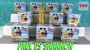 Small Picture Paul vs Shannon Challenge Disney Crossy Road Blind Box Opening
