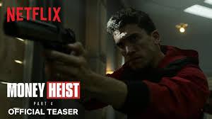 <b>Money Heist</b>: Part 4 | Official Teaser | Netflix - YouTube