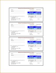 payment receipt wordtemplates net coupon book template loan payment coupon template shopgrat car book easy exa payment book template template full
