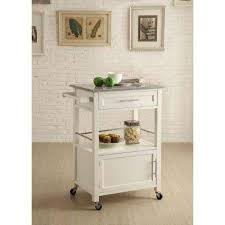 austin wood mobile kitchen cart wine