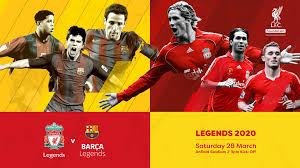 Liverpool fc, liverpool, united kingdom. Barca Legends Will Face Liverpool Fc Legends On Saturday 28 March At Anfield