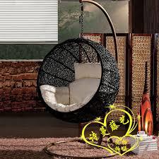 rattan swing hammock lounged hanging basket cradle chair balcony bird nest hanging chair round indoor cradle