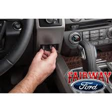 2010 ford f150 trailer brake controller vehiclepad 15 thru 17 f 150 oem genuine ford parts in dash trailer brake