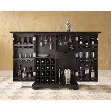 Portable Liquor Cabinet Crosley Furniture Alexandra Expandable Bar Cabinet Walmartcom