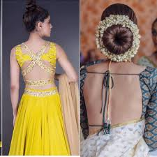 String Blouse Designs 33 Different Types Of Saree Blouses Back Neck Designs