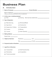 small business startup plan sample small business startup plan template financial for pdf nonprofit p