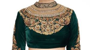 Latest High Neck Blouse Designs 2019 High Neck Blouse Designs 2019 Indian Blouse Design 2019