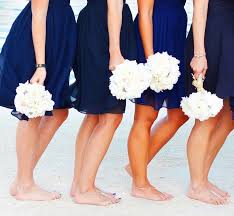 summer wedding ideas amazing fourth of july wedding inspiration Ideas For July 4th Summer Wedding fourth of july summer wedding bridesmaids in blue dresses holding white bouquets 4th of July Wedding Centerpieces