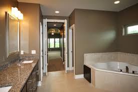 master bathroom floor plans corner tub. Flooring Wondrous Master Bathroom Floor Plans Using Cream Ceramic Tile Under Undermount Corner Bathtub Alongside Granite Tub