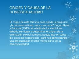 Resultado de imagen de homosexualismo