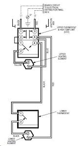 water heater thermostat wiring diagram water wiring diagrams water heater thermostat wiring diagram