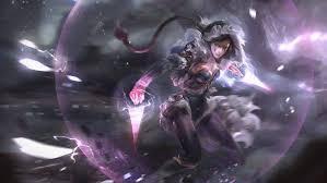 2d fan art anime girls dota 2 templar assassin lanaya