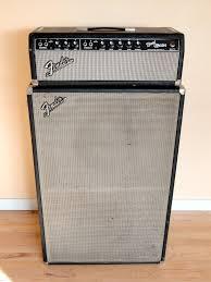 Fender Bandmaster Speaker Cabinet 1964 Fender Bandmaster W Tall 2x12 Cab Blackface Amps Preamps
