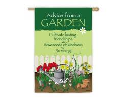 garden banners. Advice From A Garden Flag Banners