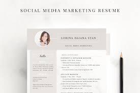 Resume Social Media Marketing