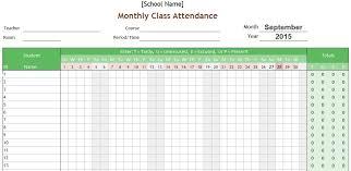 attendance spreadsheet excel attendance sheet design