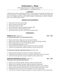 Stu Pharmaceutical Sales Rep Resume Nice How To Resume Resume