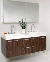 Modern double sink vanity Cheap Bathroom Frescaopulentowalnutmoderndoublesinkbathroomvanity Kitchen Concepts Usa Inc Fresca Opulento Walnut Modern Double Sink Bathroom Vanity