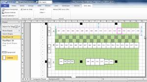 using visio to draw data center floor plans quickly and easily