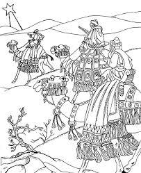 Anti Stress Kleurplaten Driekoningen Drie Koningen 3