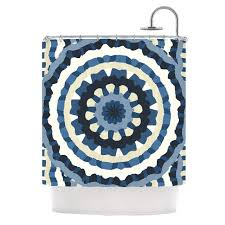 Dkny Bathroom Accessories Accessories Orange Mint Morracan Ikat Shower Curtain For