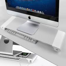 Computer Monitor Display Stands Best For Apple Mac Computer Display Holder Universal Aluminum PC Monitor