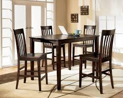 Tall Dark Wood Dining Table The Tall Dining Table And The Modern - Dark wood dining room tables