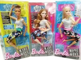 Búp Bê Barbie Chính Hãng Váy Búp Bê Barbie Đa Khớp Chuyển Động Vũ Công Yoga
