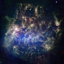 Galaxy Orbit Light Show Galaxy Will Slam Into Milky Way Wake Up Black Hole And