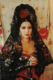 famous romani people. lyalya (olga) jemchujchnaya most beautiful gypsy photos, and famous romani people h