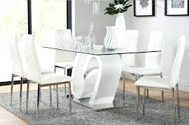 white dining room table dining table 6 chairs 6 dining tables chairs furniture choice white round