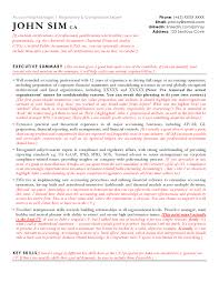 Resume Sample For Accounting Jobs Accounting Resume Sample Cv Sample For Accountants