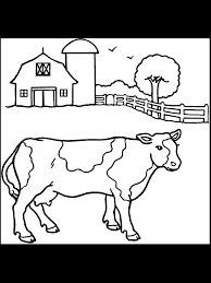 Small Picture Coloring Page Cow Coloring Home