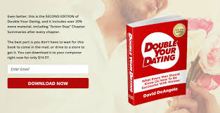 book double your dating by david deangelo