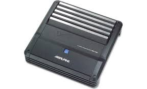 alpine mrp f450 4 channel car amplifier 70 watts rms x 4 at alpine mrp f450 front