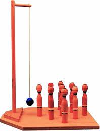 Skittles Wooden Board Game Bar Skittles 87