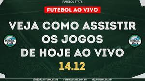 Jogos de Hoje - Onde Assistir Futebol Ao Vivo na TV - Guia dos jogos  Internet Online - 14/12 Futemax - YouTube