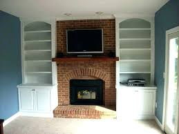 built ins around fireplace in bookshelves with windows diy